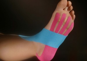 Kinesio Taping on Foot